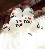 Wholesale pc Romantic White Helium Latex Balloons Party Wedding Birthday Christmas Event Decoration Balloons S0832