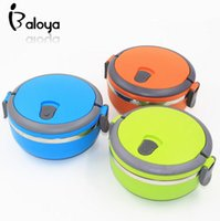 Cheap 2015 new Stainless Steel 700ml bento Lunch Box with handle lunchbox food container thermos for food for kid free shipping