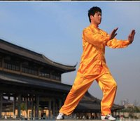 Wholesale Add file silk Tai Chi Kung Fu suit costumes Wushu clothing sexy