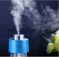Wholesale USB Portable Office Air Diffuser Aroma Mist Maker with Bottle Absorbent Filter Sticks ABS Water Bottle Cap Humidifier DC V