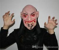 Wholesale Masks Venetian Mask Halloween Mask RespiratorHalloween Masks New Michael Myers Asylum Escape Mask Costume Mask Adult Latex Mask