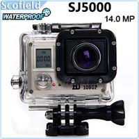 1080p waterproof hd digital video camera - New AMKOV SJ5000 SJ4000 Update Waterproof Sport Camera mini camcorder MP P Full HD WiFi Outdoor Sports Digital Video Camera Car DVR