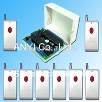 Wholesale Power Supply DC12V Channel Button RF Wireless Remote Control Switch System Light Switch