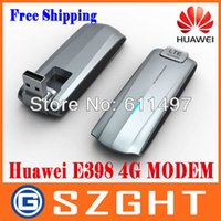 Wholesale DHL EMS G HuaWei E398 G LTE test special Modem Mbps wireless unlocked WIFI