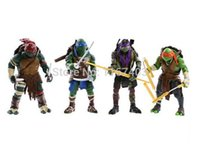 Wholesale NEW HOT pieces set cm Anime Cartoon TMNT Teenage Mutant Ninja Turtles PVC action figure Toys Dolls juguetes brinquedos