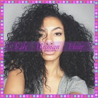indian remy curly full lace wigs - 100 indian remy curly full lace wigs human hair wigs with silk top No mix virgin hair lace front wigs