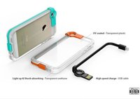 iphone 5 lightning cable - Lightning Flash LED Light Up Phone Case With USB Cable for iPhone s quot plus quot