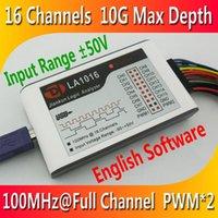 Wholesale Hot Selling High Quality Logic Analyzer set New Arrival USB2 M full CH depth G MCU ARM FPGA DSP debug tools genuine