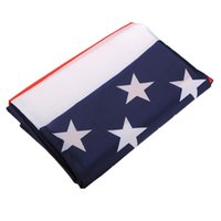 american flag pennant - New Hot Sale x5ft US USA United States American National Flag Foot Stars Banner Pennant With Metal Grommets Polyester