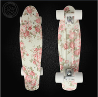 Wholesale 22 quot Custom Penny Skateboard Retro Mini Skate long board cruiser longboard complete skating
