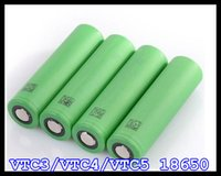 Wholesale VTC3 VTC4 VTC5 battery mah mah mah VTC lithium battery V A fit for ecig flip v3 smok magneto apollo knight mod
