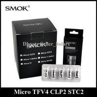 basic head - Original SMOK Micro TFV4 CLP2 STC2 MTL Coil Head Replacement fit Micro TFV4 Plus Nano Basic Tank