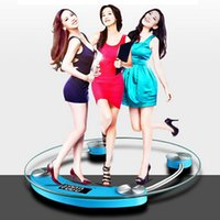 Wholesale Body Fitness Round Electronic Balance Backlight Night Vision Weighing Scale NVIE order lt no track
