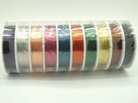 Cheap Wholesale 0.3mm 0.4mm Mixed color copper wire for jewelry Making Craft Wire