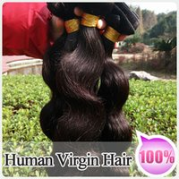 Malaysian Hair Body Wave 8''-30''Mixed length DHL Free Shipping:100%6A Grade Brazilian Human Virgin Hair 4Pcs Lot Hair Weaves Natural Color Cheap Hair Weft No Shedding, Tangle Free