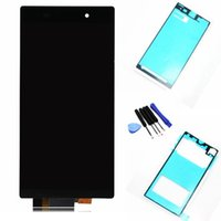 Wholesale For Sony Xperia Z1 L39H L39 C6902 C6903 LCD Screen Display Touch Screen Digitizer Assembly c6902 c6903 LCD and Tool Black