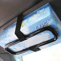 Wholesale Car sun visor car with a tissue box tissue box box car tissue box hanging tissue box holder paperclip