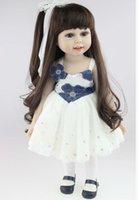 Wholesale Soft American Girl Dolls Inch cm Cute Lifelike Baby Toys for Children Gift New Design