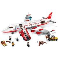 airbus model airplanes - GUDI set AirBus Model Airplane Building Blocks sets DIY Bricks Classic Toys