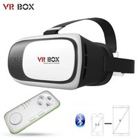 Wholesale 2016 Newest VR Box Upgrated Version VR Virtual Reality Glasses VR Glasses Rift Google Cardboard D Movie for quot quot Phone