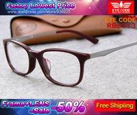 Cheap 2015 new EYE CODE fashion men or women reading eyeglases frame fit myopia original prescription progressive optical mirror lens