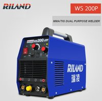 Wholesale Portable TIG Welder TIG200P Dual Purpose MMA TIG Inverter Welding Machine WS200P V Argon Arc TIG Welder With Pulse Control