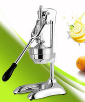 Wholesale Stainless steel manual juice pressing machine machinist squeezing commercial household orange juice fruit juice machine squeezed lemon jui