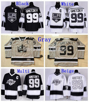 angeles c - Factory Outlet Discount Mens LA Los Angeles Kings Wayne Gretzky Jersey Stadium Series Black White Vintage Stitched Hockey Jerseys C pat