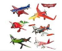 Wholesale 6pcs set pixar planes dusty planes ishani skipper Ripslinger airplane plane model gifts doll classic toys for children