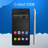 Caso libero! Cubot S208 5.0 '' IPS MTK6582 Quad Core Android 4.4 del telefono cellulare 1GB di RAM 16GB ROM 8.0MP fotocamera 3G Smartphone Android