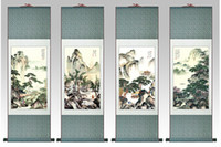 Wholesale 4 pieces per landscape painting price traditional Chinese Art Painting Home Office Decoration Chinese painting