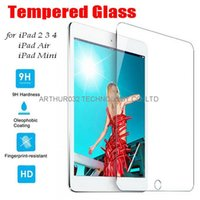 Wholesale Tempered Glass H MM Film Tablet PC Screen Protector Explosion Proof for Apple iPad Air iPad Mini With Retail Package