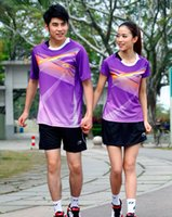 Wholesale LI NING badminton sports jersey Badminton shirts short badminton sports set