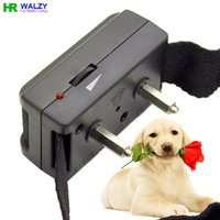 activate bark - 200Pcs Sound Activated Electronic Shock Bark Stop Collar Anti Bark Dog Collar WALZY PET BK017 Dog Trainer