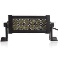 Wholesale 2520Lm W High Power x W Bead LEDs Adjustable Bracket Offroad LED Work Light