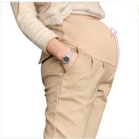 Wholesale High Quality Maternity Belly Pants Causal Trousers for Pregnancy Wear Plus Size Summer and Spring Clothes for Pregnant Women