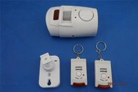 Wholesale Home Alarm System dB Wireless IR Infrared Motion Sensor Detector Alarm Remote Keychains S169
