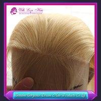 Cheap blonde color lace closure Best Brazilian virgin hair