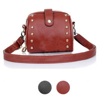 best travel camera bag - Gofuly Newest Top Brand Women Ladies Mini Bag Camera Bag Rivets Small Bag Best Gift For Travel