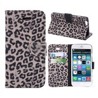Cheap For Apple iPhone leopard print phone case Best Leather 1 leather case for iphone 6 case