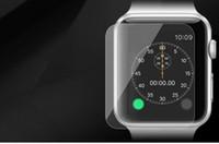 Gros verre protecteur d'écran Avis-Film protecteur d'écran en verre trempé pour 42mm Apple Watch Sport Edition Tough Glass Anti-Scratch film protecteur de masse en gros DHL Free