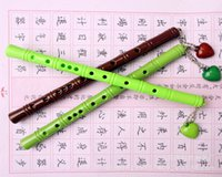 bamboo and pen - Japan and South Korea creative stationery student prizes practical small gift activity gift bamboo flute sub gel pen