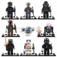 Unisex bb for sale - SALE Star Wars Minifigures The Force Awakens Kylo Ren BB Building Block Set Models Action Figures Toys For Children