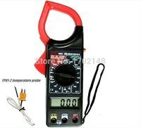 Wholesale Digital clamp meter can measure temperature DT266C