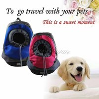 Wholesale Comfortable Dog Carrier Backpack Outdoor Travel Rabbit Cat Mesh Tote Bag Pet Pruduct Supplies CWB