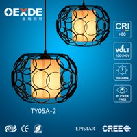Wholesale Retro lights Iron lampshade can create a special atmosphere it is mainly used in the wire cage bars and leisure options tea lights