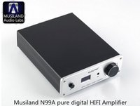 Wholesale Free express shipping Musiland N99A Stereo pure digital Amplifier bit kHz MOS Wx2 FPGA for HIFI
