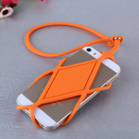 For Apple iPhone apple stole - For iPhone s S7 Note6 Huawei Universal Cell Phone lanyard case Anti Stolen Back Cover Soft TPU with Retail Bag