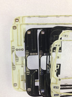 Wholesale High quality Front Frame Middle Bezel LCD Supporting Frame With hot glue For iphone plus inch