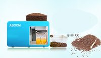 Wholesale Aboom Household Castor Oil Cold Press Machine To Make Health Regimen Oil for All Kinds of Oilseeds such as Castor Canola Flaxseed and so on